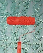 Dandelion Flower Print Pattern Paint Roller 18cm Wall Texture Decorating Stencil