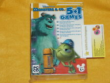MONSTERS e CO 5 + 1 GAMES COMPILATION x PC vers. ITALIA & NUOVO SIGILLATO Disney