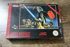 Star Wars Return of the Jedi - Super Nintendo / SNES - TOP / SELTEN