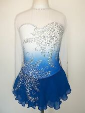CUSTOM MADE FIGURE SKATING BATON TWIRLING DANCE DRESS