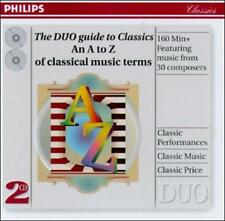 , The DUO guide to Classics--An A to Z of classical music, Excellent Limited Edi