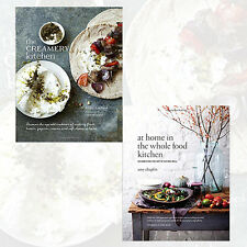 The Creamery Kitchen & At Home in the Whole Food Kitchen Collection 2 Books Set
