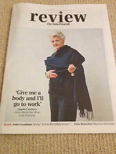 ANGELA LANSBURY UK PHOTO COVER TELEGRAPH REVIEW 2014 INTERVIEW - NINA PERSSON