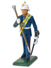 William Britain Royal Marine Drum Major 43029 Diecast Metal Toy Soldier