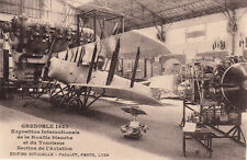 GRENOBLE expo houille blanche 1925 section aviation avion