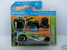 Hotwheels Treasure Hunt Surf Crate 2012 - New in Package - Short Card