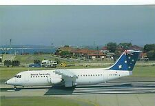 Ansett Australia BAe 146-300 VH-EWR C/N E3195 Aviation Postcard