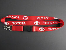 TOYOTA Lanyard Keychain Quick Release SUPRA CELICA AE86 COROLLA - RED