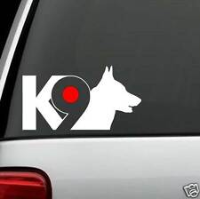 B1103 K9 German Shepherd Dog Decal Sticker Infinity