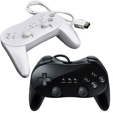 Cute Game Controller Classic Pro Joypad For Nintendo Wii Remote Black&White 1PC