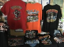 HD Harley-Davidson Lot of (10) Collectible Authentic Shirts All Adult Sizes