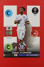ADRENALYN ROAD TO UEFA EURO 2016 ONE TO WATCH STURRIDGE ENGLAND 248  MINT!!!!
