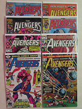 Marvel Comics AVENGERS 8-Pack Comic Book Grab Bag -Bronze, Copper, & Modern Age