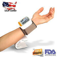Digital Wrist Blood Pressure Monitor - Easy to use! FDA Approved