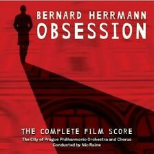 Obsession - 2 x CD Complete Score - Limited Edition - Bernard Herrmann
