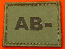 Olive AB- Blood Group Flash AB- Blood Group Badge