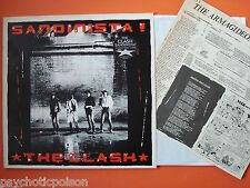 CLASH - SANDINISTA !   3 LP-Set  &  Armagideon Times Newspaper # 3    CBS FSLN 1