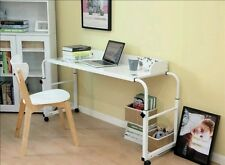 2m Over Bed Trolley Laptop Study Desk Display Overbed Hospital Patient Table