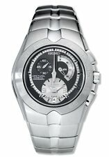 Seiko Arctura Kinetic Chronograph Automatic Mens Watch SNL025 Black Face