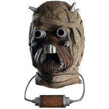 Dlx Tusken Raider Costume Mask Adult Star Wars Halloween Fancy Dress Accessory