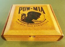 POW/MIA Shadow Display Box honoring our Prisoner of War,Missing in Action Heroes