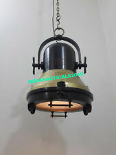 Retro Nautical Hanging Lamp Ceiling Fixture Light by Authentic Models Lamp Light