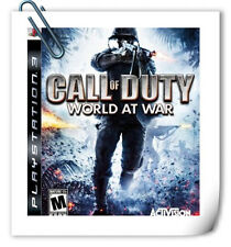 PS3 Call of Duty World at War Sony Activision Shooting Games
