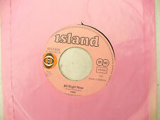 FREE ALL RIGHT NOW German pink island 6014 016......... 45 rpm