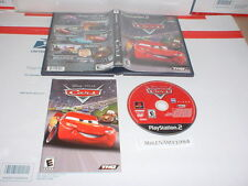 Disney / Pixar CARS game complete in case w/ manual for Playstation 2 PS2