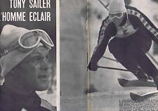 Coupure de presse Clipping 1958 Sailer Bozon Rieder Wheeler (6 pages)