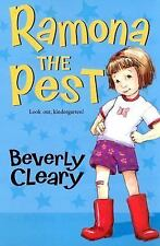 Kids fun paperback:Ramona the Pest-Beverly Cleary-look out kindergarten-lol fun