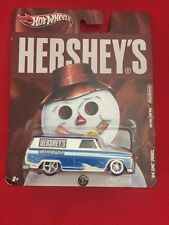 HOT WHEELS POP CULTURE NOSTALGIA HERSHEY'S MINIATURES '64 GMC PANEL