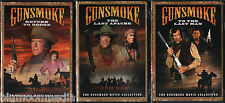 Gunsmoke 3 Movie Collection DVD Lot Return to Dodge Last Apache To Last Man NEW