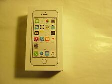 STRAIGHT TALK  OR TOTAL WIRELESS Apple iPhone 5s 16GB Silver New SEALED in Box
