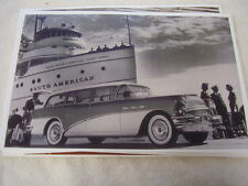 1956 BUICK  SPECIAL  STATION WAGON 11 X 17  PHOTO  PICTURE
