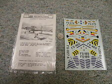 Microscale decals 1/72 72-203 F-84G Thunderjets #2 J105