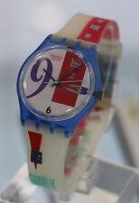 SWATCH --- Bold Face From 1991 Collection NEW!