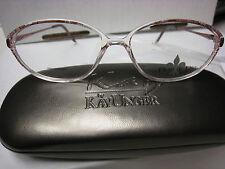 FLEUR DE LIS Eyeglass Frames Style POMPEI in PURPLE 54-14-135 With free case