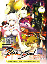 Blade & Soul DVD Complete 1-13 (Anime)  - NEW Ship FAST