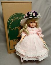 "1993 ROBIN WOODS - CHRIS MILLER 14"" CHRISTINE DOLL - VERSES IN TIME MAY - LE"