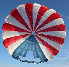 Pioneer 26ft Conical steerable vintage round reserve skydiving parachute canopy