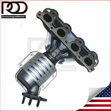 New Catalytic Converter with Exhaust Manifold for 96-2000 Honda Civic 1.6L Front