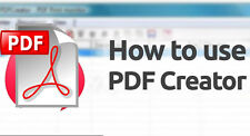Software creador de PDF crear archivos PDF Pro Profesional digitales o DVD + Adobe Reader