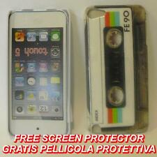 Pellicola+custodia BACK COVER rigida TAPE FE90 per APPLE IPOD 5