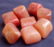 Large Himalayan Red Quartz Crystal Tumbled- Stone of Angelic Energy,Healing