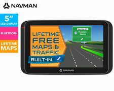 "Navman MY400LMT 5"" GPS Navigator Touch screen Bluetooth Lifetme Maps Car Mount"