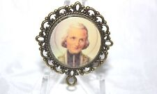Bronze Rosary Center Part/Color/Rosary Making/Cure of Ars St. John Vianney