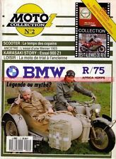 MOTO COLLECTION  2 BMW R 75 + Side Car Africa Korps WW2 WH WERNER KAWASAKI H1 Z1