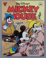 "Gladstone Walt Disney's Mickey Mouse ""Sheriff of Nugget Gulch"" #22"