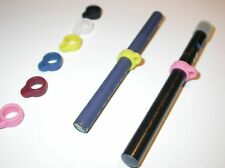 MINI/SMALL Silicone/Rubber E-cig/Pen lanyard ring - 10 Count